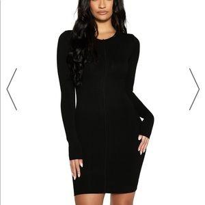 NWOT NAKED WARDROBE SNATCHED VIBES DRESS Size XL